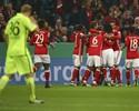 Lateral Philipp Lahm faz um golaço, e Bayern avança na Copa da Alemanha