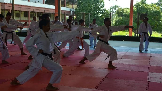 Atletas de todo estado participaram dos dois dias de cursos (Foto: Pâmela Fernandes)