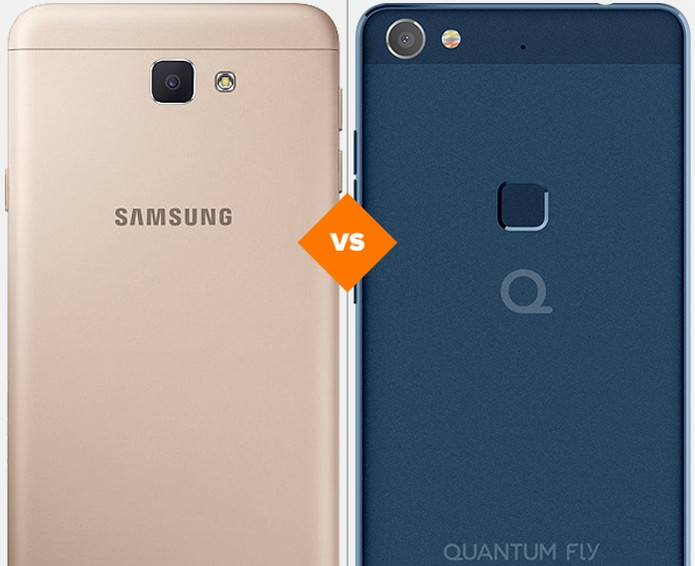Galaxy J7 Prime ou Quantum Fly: veja qual celular intermediário se sai melhor em comparativo (Foto: Arte/TechTudo)