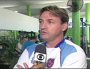 A equipe se reapresentou nesta terça-feira, com treino em dois períodos (Foto: Reprodução/TV Integração)