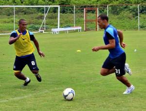 Jogadores do Bahia fazem trabalho técnico no Fazendão (Foto: Divulgação/E.C. Bahia)
