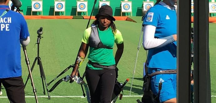 Anne Marcelle; Brasil; tiro com arco (Foto: Cleber Akamine)
