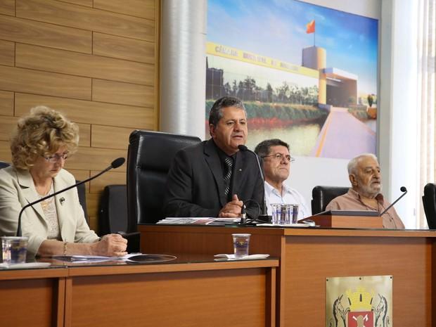 Comissão da Verdade realiza audiência em Sorocaba (SP) (Foto: Divulgação/ Câmara Municipal de Sorocaba)