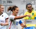 Marta está entre as finalistas ao prêmio de melhor jogadora do mundo da Fifa
