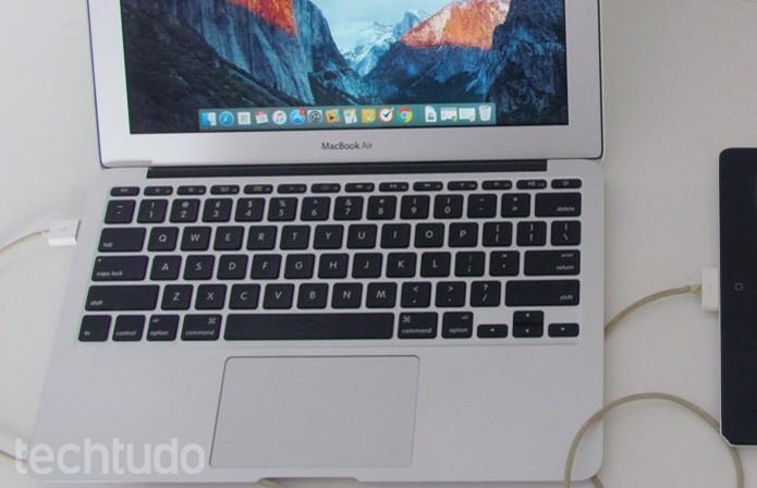 Conecte o iPad ao Mac (Foto: Paulo Alves/TechTudo )