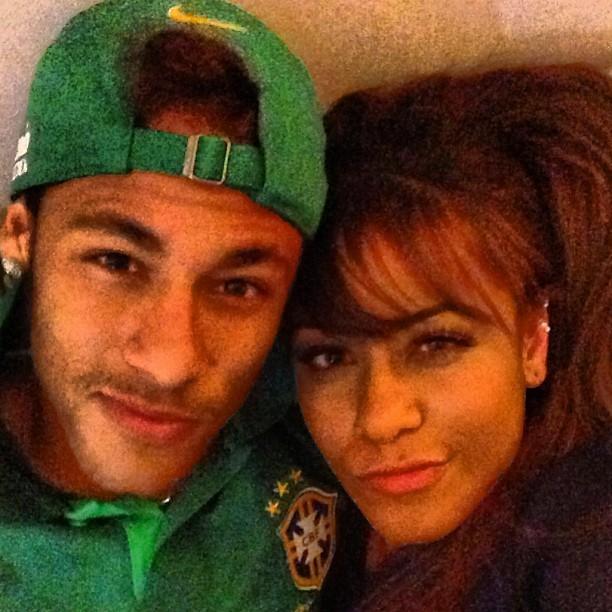 Neymar e a irmã Rafaella Santos (Foto: Instagram/ Reprodução)