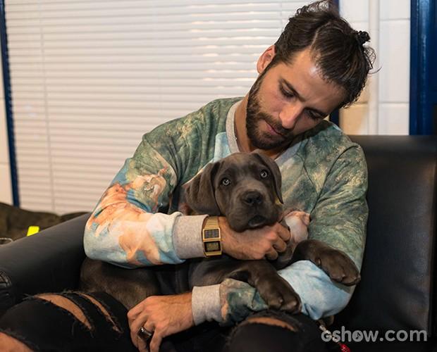 cachorra  (Foto: Camila Serejo / TV Globo)