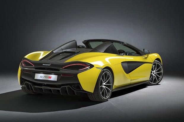 McLaren 570S Spider (Foto: Divulgação)