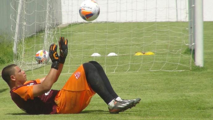 Juliano CRB (Foto: Viviane Leão/GloboEsporte.com)