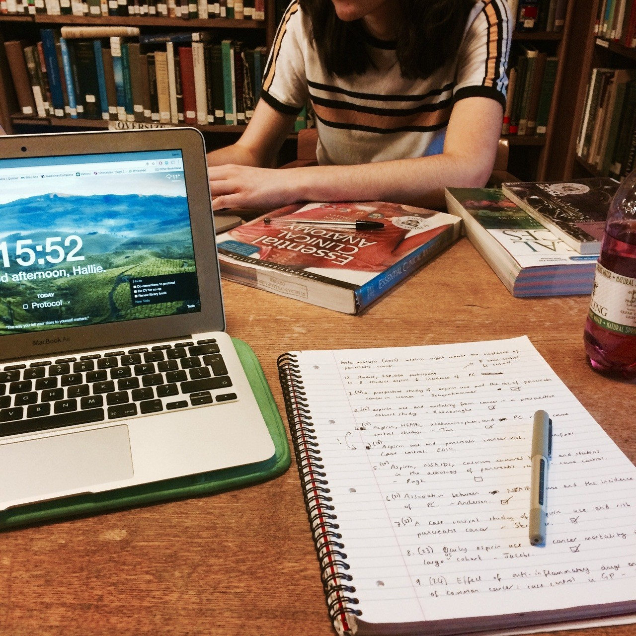 Estudo (Foto: Reprodução/Tumblr/quilavastudy)