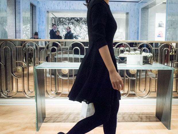 Carro-chefe da Dior no país asiático foi inaugurado com pompa no fim de semana. (Foto: Reuters)