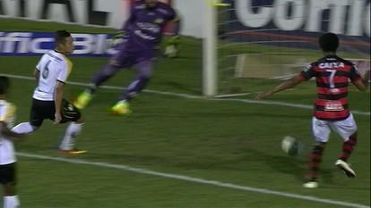 Os gols de Criciúma 1 x 2 Atlético-GO pela 32ª rodada do Campeonato Brasileiro Série B