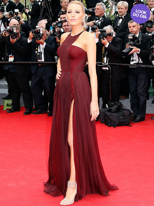 Look do dia - Blake Lively (Foto: AFP)