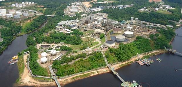 Refinaria Isaac Sabbá (Reman) da Petrobras (Foto: Divulgação Petrobras)