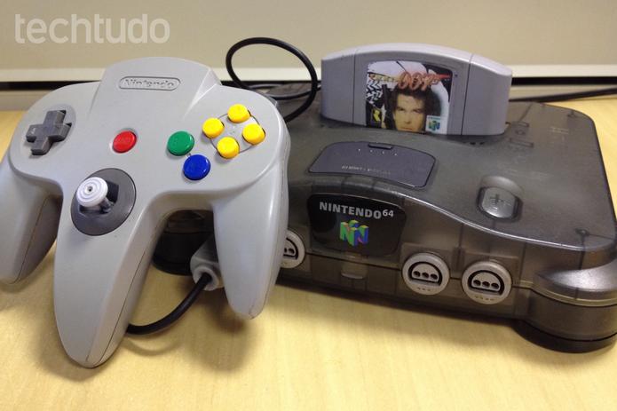Nintendo 64 é um dos principais consoles já produzidos pela fabricante (Foto: Lucas Mendes/TechTudo)