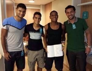 robert fred jean gum (Foto: Marcos Benjamin / Fluminense FC)