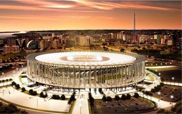 Projeto do Estádio Nacional Mané Garrincha, em Brasília (Foto: Divulgação)