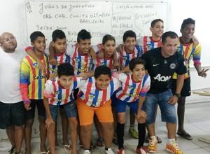 Alunos da Escola Capitão Silvio de Farias (Foto: Uelton Salomão/Arquivo pessoal)