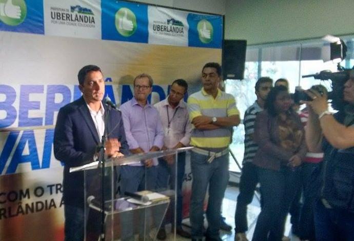 Luciano Cabral, presidente, CBDU, em Uberlândia (Foto: Gullit Castro)
