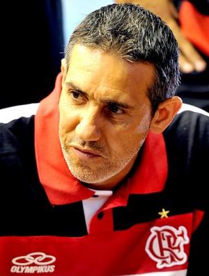 Neto técnico do Flamengo basquete (Foto: João Pires / LNB)