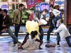 Que sintonia! Giovanna Lancellotti e Jonatas Faro revivem 'Grease'