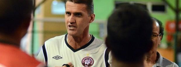 Vagner Mancini, técnico do Atlético-PR (Foto: Site oficial do Atlético-PR/Gustavo Oliveira)