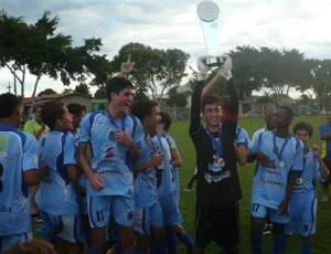 Linhares Sub-15 (Foto: Divulgação/Linhares FC)