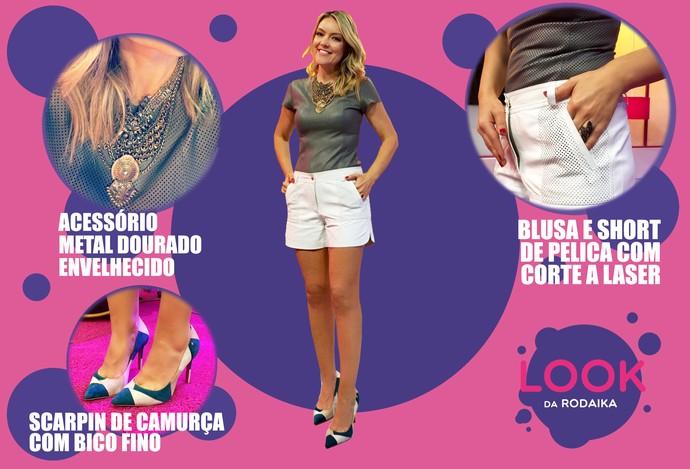 mistura com rodaika look da rodaika (Foto: Divulgação/RBS TV)