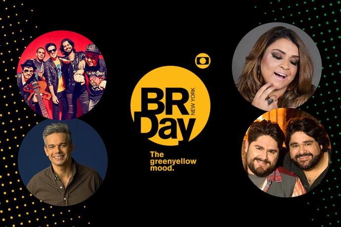 Confira as atrações do BR Day! (Foto: Divulgação)