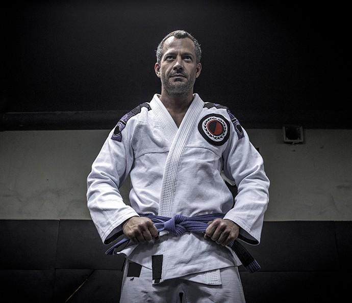 Malvino é nascido em Manaus (AM), tem 40 anos, é casado com a lutadora Kyra Gracie, tem duas filhas e está a espera da chegada da terceira menina (Foto: Isabella Pinheiro/Gshow)