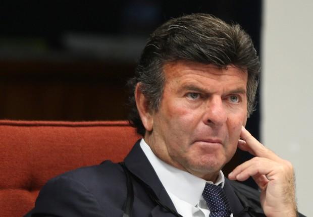 O ministro do STF Luiz Fux (Foto: Nelson Jr./SCO/STF)