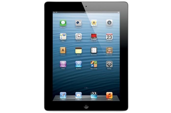 iPad 4 tem tela de 9,7 polegadas com qualidade bastante similar às do modelos mais novos (Foto: Divulgação/Apple)