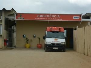 Vítima foi levada ao Hospital geral da cidade e já recebeu alta (Foto: Anderson Oliveira/Blog do Anderson)