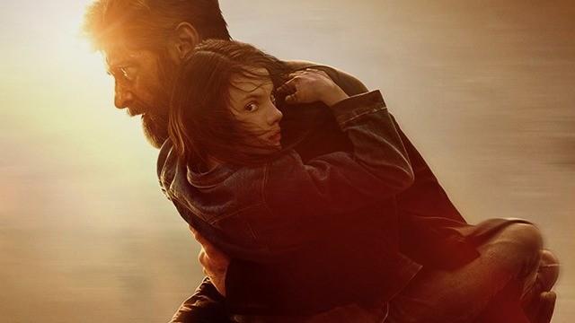 Hugh Jackman e Dafne Keen em detalhe do pôster de 'Logan' (Foto: Divulgação)