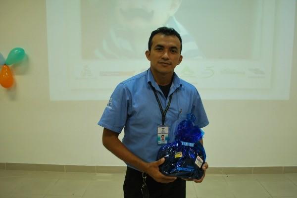 Fernando Costa é um dos pais homenageados, da TV Amazonas (Foto: Onofre Martins/ Rede AM)