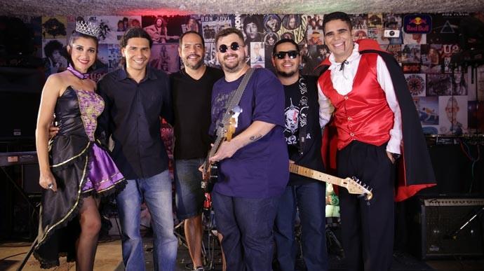 Programão de Halloween tem a banda Aclive como atração musical  (Foto: Gshow/Rede Clube)
