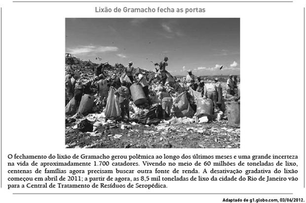 Lixão de Gramacho foi fechado. (Foto: G1)