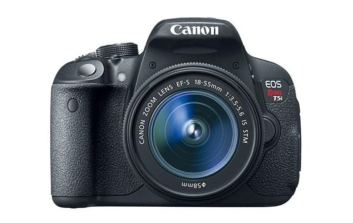 A gravação de videos da T5i é em Full HD (Foto: Divulgação/Canon)
