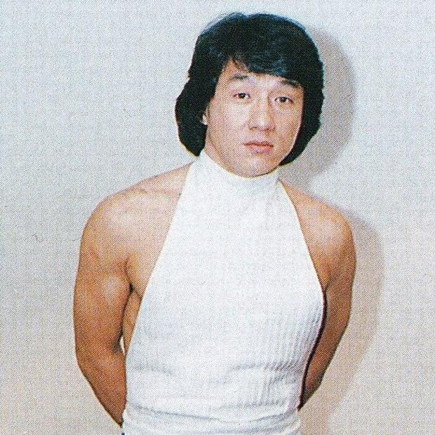 Jackie Chan na juventude (Foto: reprodução)