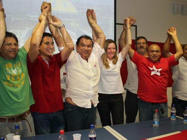 Vanessa Grazziotin será candidata à Prefeitura de Manaus (Foto: Ana Graziela Maia/G1)