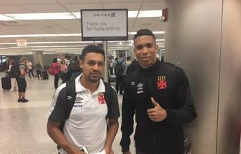 Goiás tenta contratar Eder Luis e Madson, mas Vasco não libera