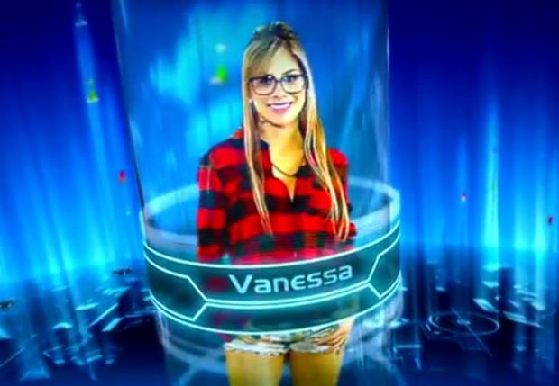 Vanessa, do BBB15 (Foto: Reprodução / Tv Globo)