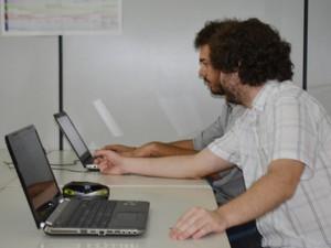 Coworking em Campinas (Foto: Priscilla Geremias/ G1)