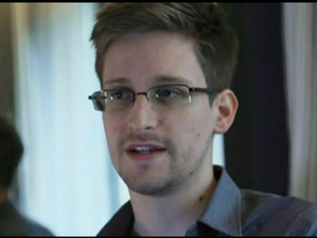 Snowden (Foto: GloboNews)