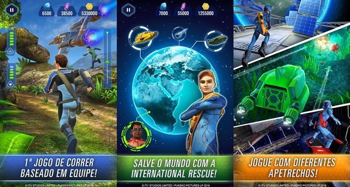 Os Thunderbirds voltaram, e além da nova animação, também ganhou um divertido jogo para celular (Foto: Divulgação / Miniclip)