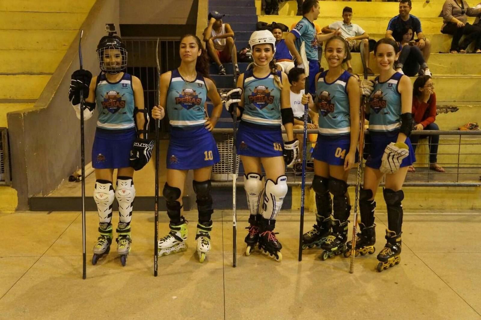Equipe de Araguaína de hóquei feminino disputa Liga Nacional em SP pebas girls