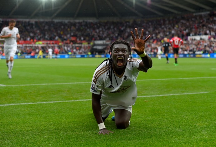 Gomis Swansea Manchester United (Foto: Getty Images)