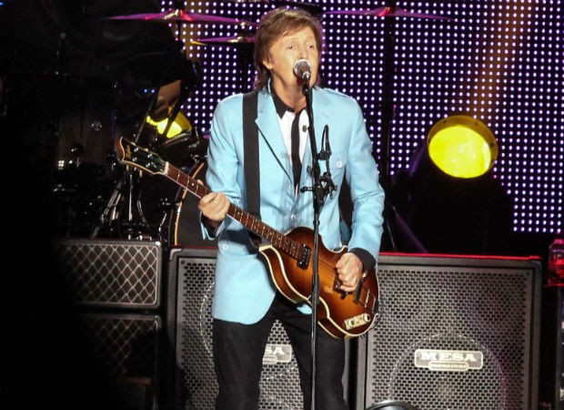 Paul McCartney (Foto: Amandio Santos e Alexandre Magioni/Photo Rio News)