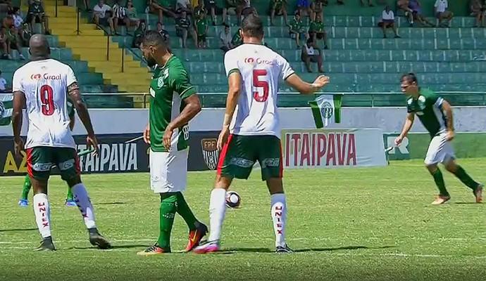 Guarani x Portuguesa Série A2 (Foto: Reprodução / SporTV)