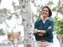 Carla Amorim volta à TV e conta experiência de ser mãe pela 1ª vez